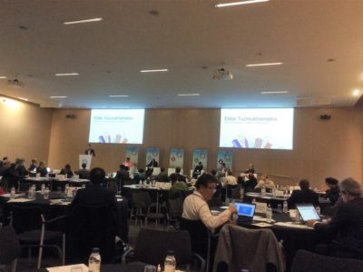Sesión WSC Forum organizado por ISO, ITU, IEC Barcelona, 2017